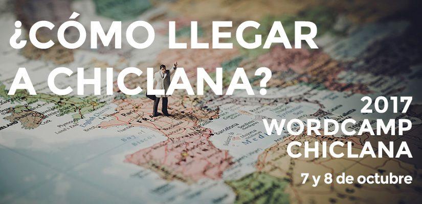 Cómo llegar a Chiclana