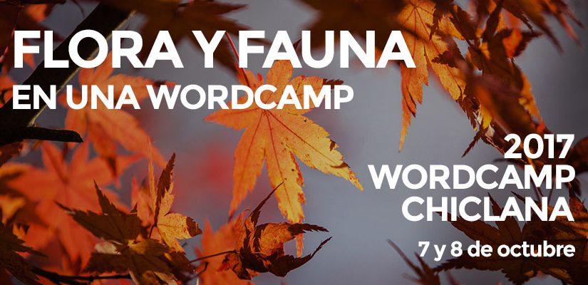 Flora y fauna en una WordCamp